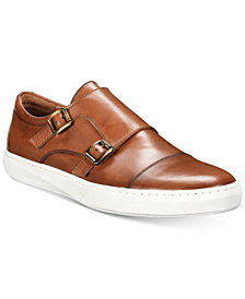 Kenneth Cole New York Men's Whyle Monk-Strap Sneakers