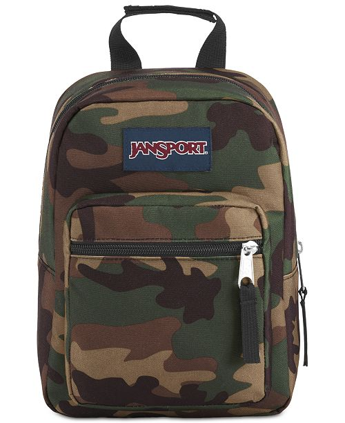 jansport men s camo insulated mini backpack lunchbox all