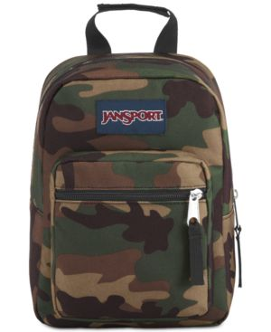 JanSport Men's Camo Insulated Mini Backpack Lunchbox
