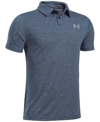 Big Boys Threadborne Polo Shirt by Under Armour