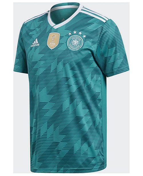 new style 25c43 36a28 adidas Germany National Team Away Stadium Jersey, Big Boys