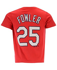 Dexter Fowler St. Louis Cardinals Official Player T-Shirt, Toddler Boys (2T-4T)