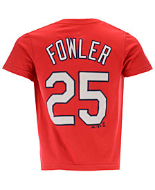 Outerstuff Dexter Fowler St. Louis Cardinals Official Player T-Shirt, Toddler Boys (2T-4T)