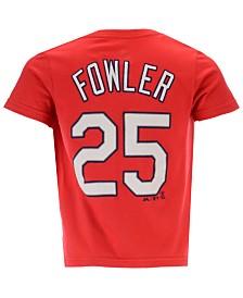 Outerstuff Dexter Fowler St. Louis Cardinals Official Player T-Shirt, Toddler Boys (2T-4T)