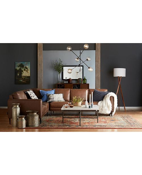 Furniture East Park Square Coffee Table Furniture Macys - East park coffee table