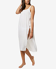 O'Neill Juniors' Slit Dress Cover-Up