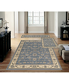 KM Home Stadio Isfahan Gray 3-Pc. Rug Set