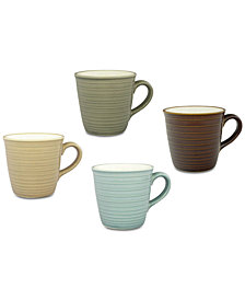 Sango Soho Mixed 4-Pc. Mug Set