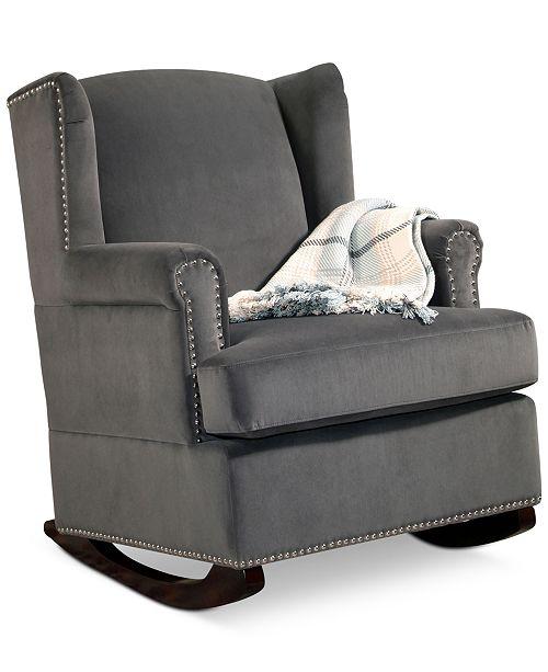 Prime Abbyson Living Teche Rocking Chair Quick Ship Furniture Short Links Chair Design For Home Short Linksinfo