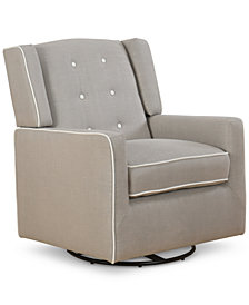CLOSEOUT! Delery Swivel Glider, Quick Ship