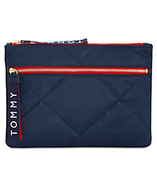 Tommy Hilfiger Flat Quilted Pouch Wallet