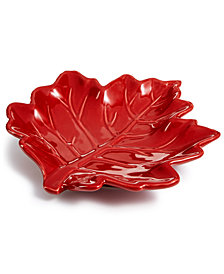 Martha Stewart Collection Leaf Spoon Rest, Created for Macy's