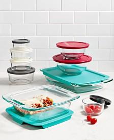 Pyrex 8-Pc. Mixing Bowl Set - Bakeware - Kitchen - Macy\'s