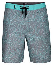 "Hurley Men's Pupukea Tropical-Print 20"" Board Shorts"
