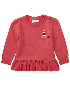 Ralph Lauren Peplum Sweater, Baby Girls