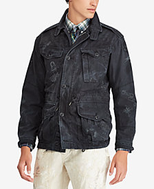 Polo Ralph Lauren Men's Print Utility Jacket