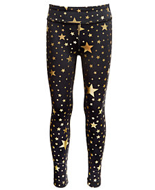Ideology Little Girls Star-Print Leggings, Created for Macy's