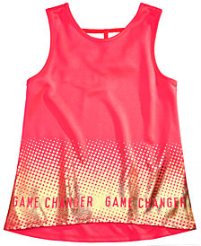 Ideology Big Girls Plus Graphic-Print Tank Top, Created for Macy's