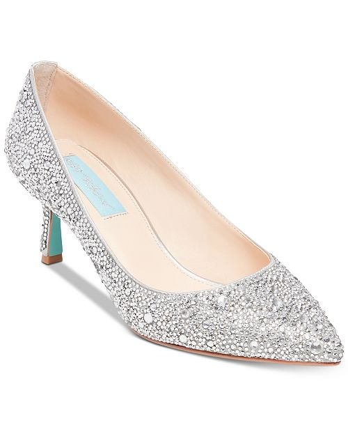 Blue by Betsey Johnson Jora Evening Pumps