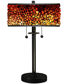Dale Tiffany Pebble Stone II Table Lamp