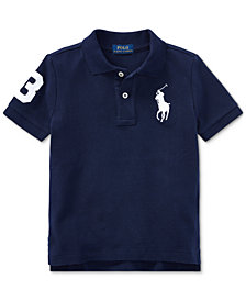 Ralph Lauren Toddler Boys Cotton Polo