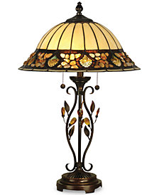Dale Tiffany Pebble Stone Table Lamp