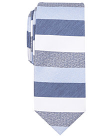 Bar III Men's Skinny Printed Tie, Created for Macy's