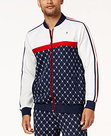 Reason Men's Logo Print Track Jacket