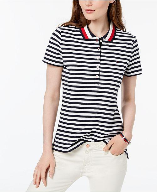 d0b4cf5b62723 ... Tommy Hilfiger Striped Polo Shirt