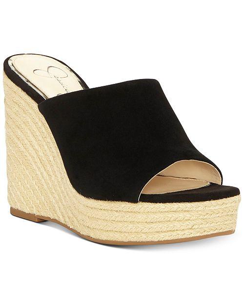 5d98b3c15785 Jessica Simpson Sirella Platform Wedge Espadrille Sandals ...