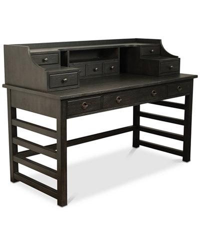 Ridgeway Home Office Leg Desk With Hutch