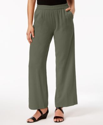 Pull-On Wide-Leg Pants, Created for Macy's