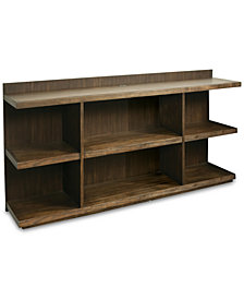 Ridgeway Home Office Peninsula USB Outlet Bookcase