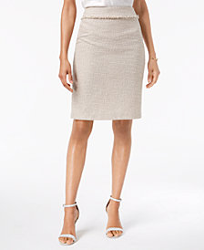 Kasper Tweed Pencil Skirt