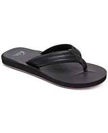 Men's Carver Nubuck Flip-Flop Sandals