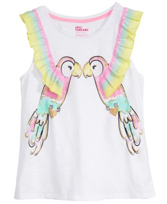 Big Girls Kiss Tank Top, Created for Macy's