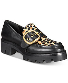COACH Grand Lug Sole Loafers