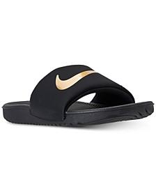 Big Boys' Kawa Slide Sandals from Finish Line
