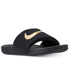 Nike Big Boys' Kawa Slide Sandals from Finish Line