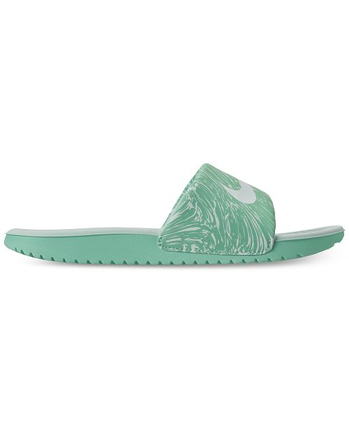 42e4ef636 Nike Big Girls  Kawa Print Slide Sandals from Finish Line   Reviews ...