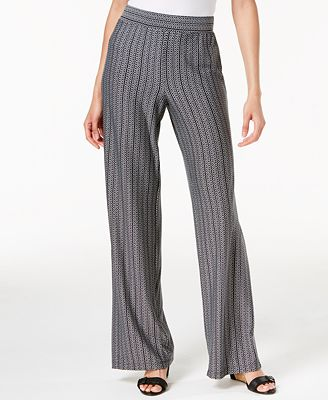 NY Collection Petite Striped Soft Pants $40 (Macy's)