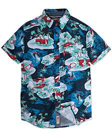 Levi's® Big Boys Printed Cotton Shirt