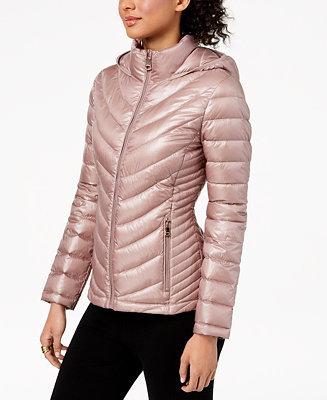 12e8d04a93f6 Calvin Klein Hooded Packable Down Puffer Coat & Reviews - Coats ...