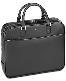 Montblanc Men's Black Sartorial Leather Small Document Case