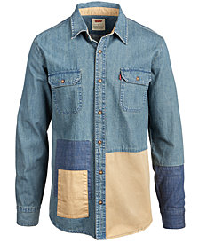 Levi's® Men's Patchwork Denim Shirt