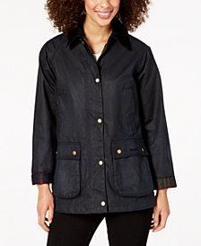 Barbour Waxed Cotton Coat
