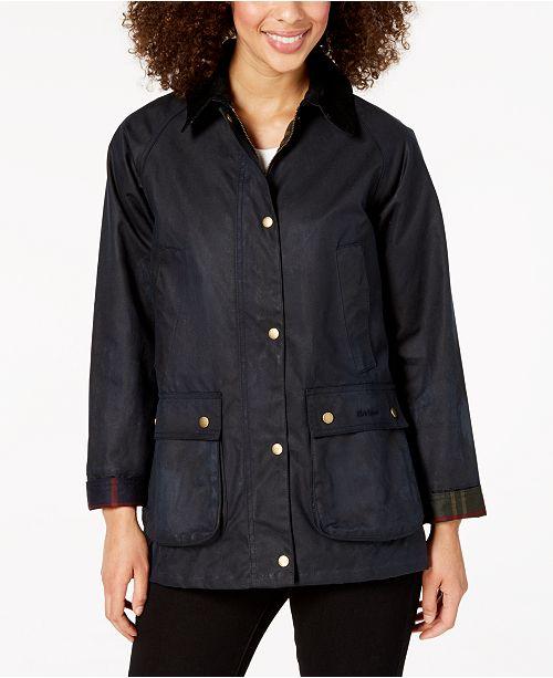 Waxed Cotton Coat