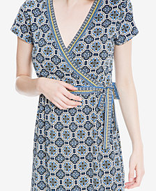 Max Studio London Printed Faux-Wrap Dress, Created for Macy's