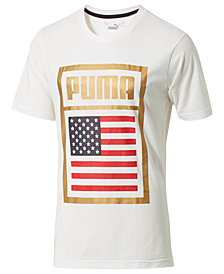 Puma Men's Forever Football USA Soccer T-Shirt
