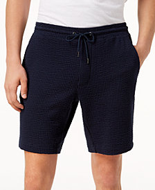 "Michael Kors Men's 9"" Seersucker Shorts"